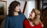 Channel 4's Bedlam: James, pictured with his mother